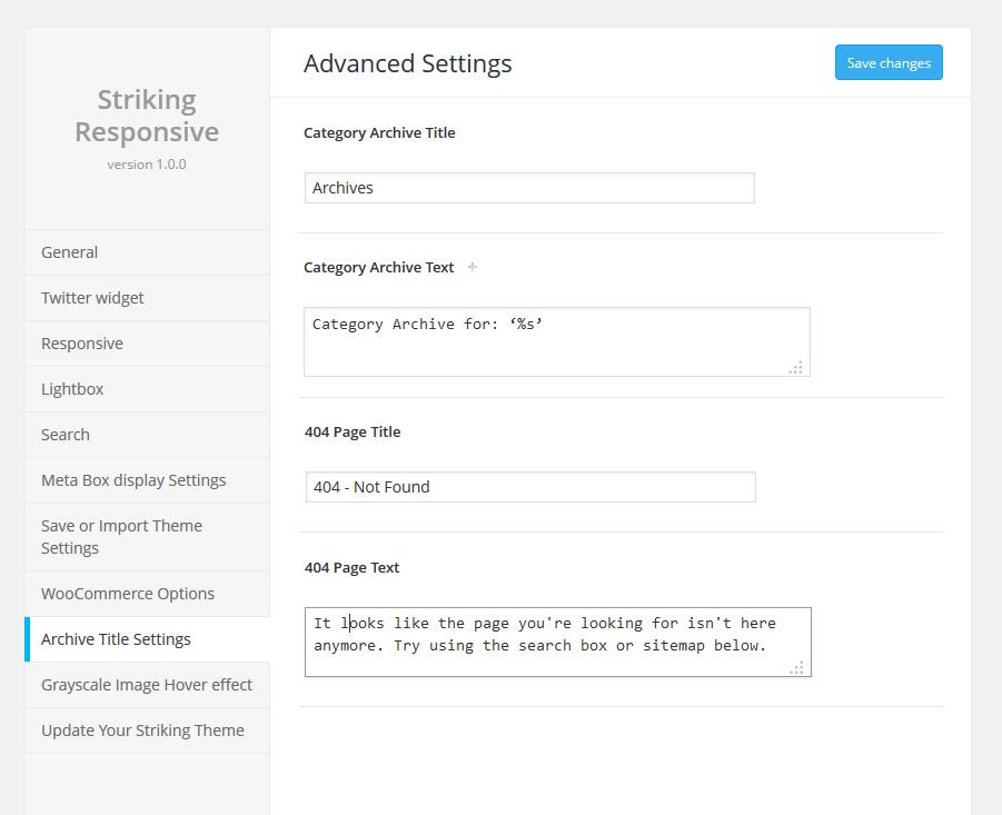 striking-404-settings